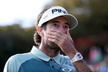 久々の勝利に喜び、これまでの日々を思い出し、涙を流した Photo by Dylan Buell/Getty Images