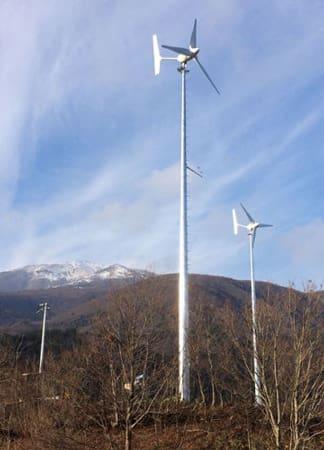 オムロンフィールドエンジニアリングが監視・保守業務を始める小形風力発電システム