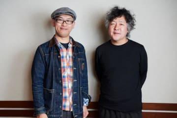 米林宏昌さん(左)と、茂木健一郎