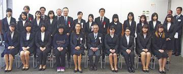 プロジェクトに携わるメンバー=2月15日 相模女子大学