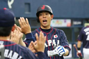 侍ジャパン・秋山翔吾は3安打2打点の活躍で勝利に貢献【写真:Getty Images】