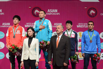 61kg級として初の国際大会で銀メダル獲得の小栁和也