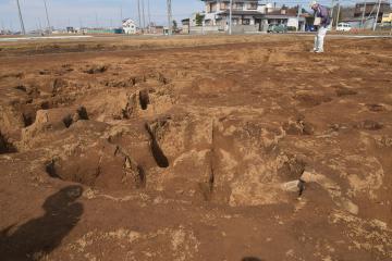 縄文時代後・晩期の竪穴住居跡