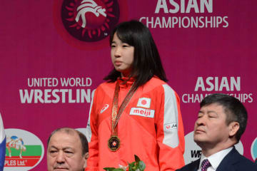 男女を通じて日本選手唯一のランキング1位となった五十嵐彩季(愛知・星城高)