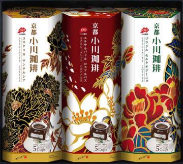 小川珈琲が発売したドリップコーヒーのギフトセット