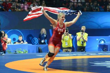 今やレスリング界の顔、オリンピック&世界チャンピオンのヘレン・マルーリス