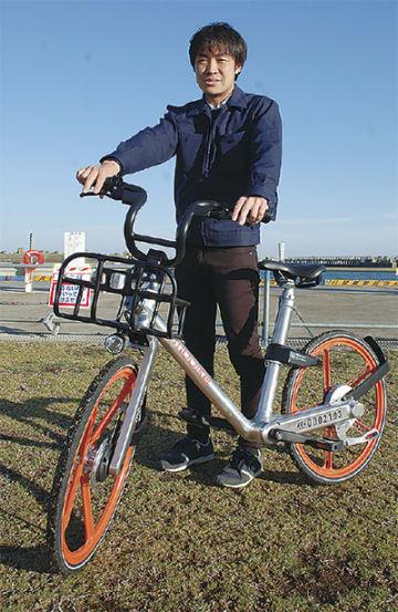 導入予定のモバイク社製自転車