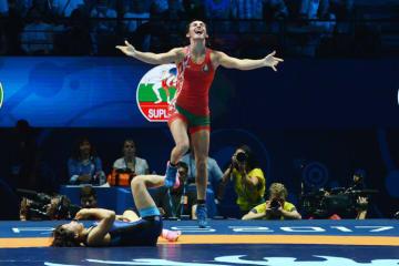 昨年の世界選手権で2度目の世界一に輝いたバネサ・カラジンスカヤ