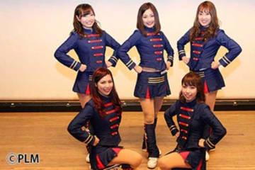 「M☆Splash!!」のメンバーたち【写真:松下雄馬】