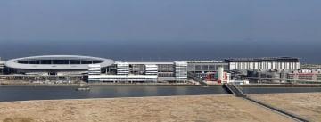 港珠澳大橋のマカオ側イミグレーション施設(写真:GCS)