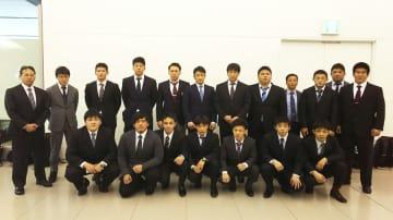 ブルガリア遠征に出発した西日本学生チーム=提供西日本学生連盟