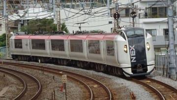 E259系 電車 特急 成田エクスプレス 東海道本線 戸塚 大船