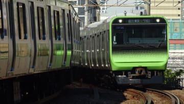 E235系 E231系 電車 山手線 恵比寿 目黒