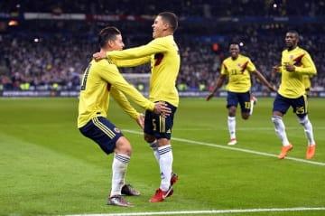 フランスを撃破したコロンビア代表 photo/Getty Images
