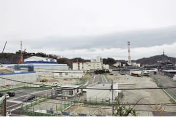建設が進む船越新庁舎