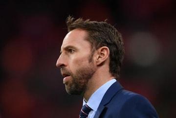 イングランド代表を指揮するサウスゲート photo/Getty Images