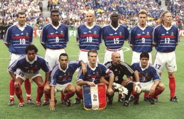 1998年大会を制したフランス代表 photo/Getty Images