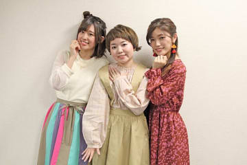 ▲左より、高橋李依さん、引坂理絵さん、美山加恋さん