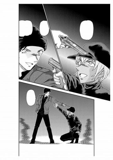 連載が再開される「名探偵コナン」の一場面((C)青山剛昌/小学館)