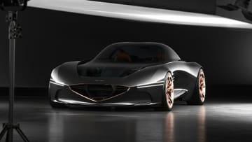 スポーティーなデザインが特徴的なコンセプトカー「Essentia」(現代自動車提供)