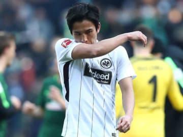 ブレーメン戦でフル出場した長谷部。試合後、悔しさをあらわに photo/Getty Images