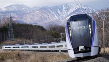 E353系 特急 スーパーあずさ 中央本線 小淵沢 長坂