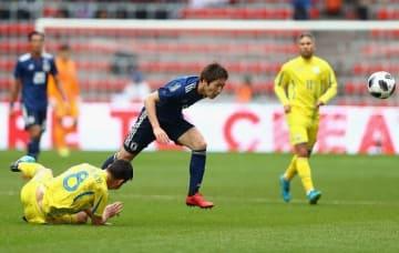日本代表は親善試合で大苦戦 photo/Getty Images