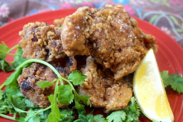 グリーンカレー風味の鶏ざんぎ
