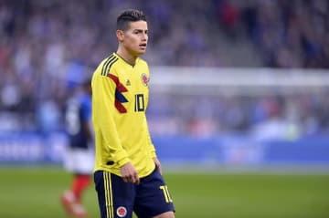 ブラジルW杯でも躍動したJ・ロドリゲス photo/Getty Images