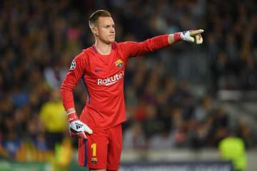 バルセロナの守護神としてチームの躍進を支えるテア・シュテーゲン photo/Getty Images