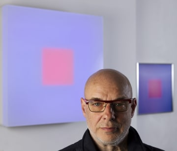 Brian Eno, Courtesy Paul Stolper Gallery 2017, photogrpahy ©Mike Abrahams160407