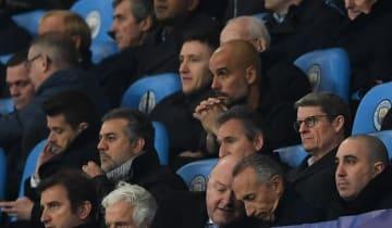 2ndレグは試合途中に退席となったグアルディオラ photo/Getty Images