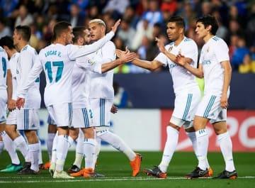 国内リーグで苦戦を強いられているレアルの面々 photo/Getty Images