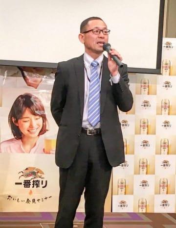 キリンビールは横浜工場(横浜市鶴見区)限定醸造の「一番搾り 横浜づくり」を発売