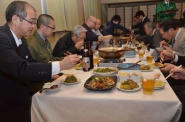 7種類の料理が提供された試食会
