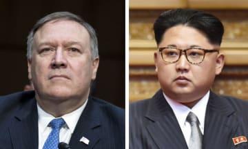 ポンペオ米CIA長官(UPI=共同)、北朝鮮の金正恩朝鮮労働党委員長