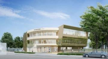 市動物愛護センターの新施設イメージ(市提供)