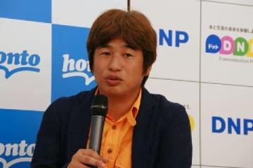 カドカワ・川上量生社長(2014年7月9日撮影)