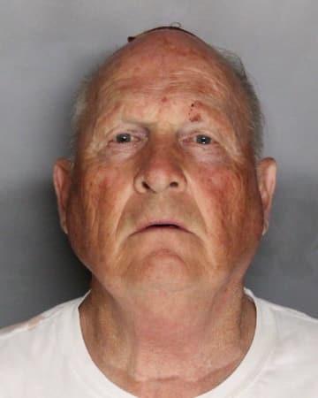 米カリフォルニア州で起きた連続殺人・強姦事件で、殺人容疑で逮捕されたジョセフ・ディエンジェロ容疑者(同州サクラメント郡保安官事務所提供、ゲッティ=共同)