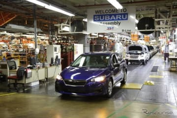 スバル米国工場