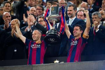 スペインサッカー界を支えた2人 photo/Getty Images