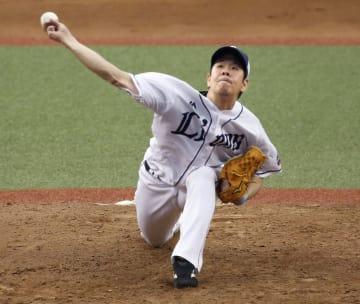 7回2失点で開幕5連勝の西武・多和田=メットライフドーム