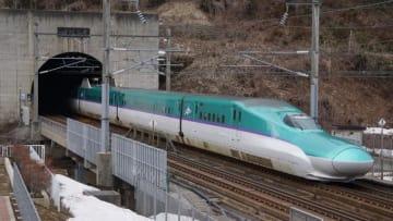 H5系 はやぶさ 北海道新幹線 木古内 奥津軽いまべつ