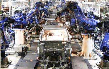 アメイズの第2世代モデルはタプカラ工場で生産している(現地法人ホンダカーズインディア提供)