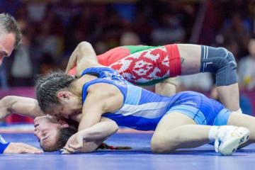 世界チャンピオンを破って優勝したスタルビラ・オルシュシュ(ロシア)=ロシア協会ホームページより