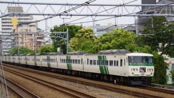 185系 電車 特急 踊り子 東海道本線 大井町 大森