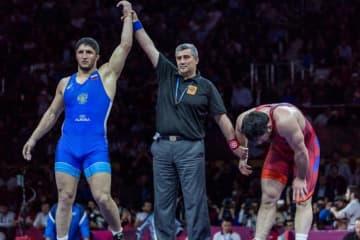92kg級で世界一を目指すアブデュラシド・サデュラエフ(ロシア)は、まず欧州を制覇=提供・UWW