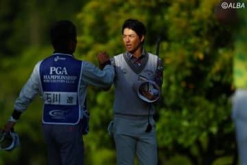 石川遼、初日は4アンダーをマーク 好位置につけた(撮影:村上航)