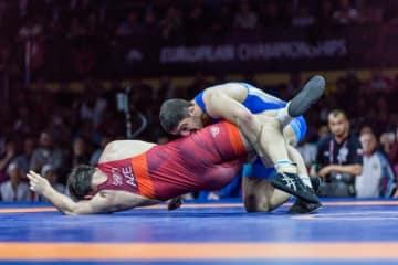 92kg級で世界ランク1位を奪取したアブデュラシド・サデュラエフ(ロシア)=提供・UWW