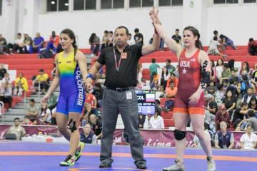 76kg級で1位となったアデライン・グレイ(米国)=提供・UWW